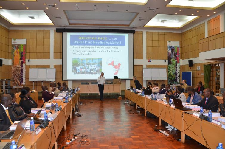 World Agroforestry Center D.G. Dr. Anthony Simons officially opens African Plant Breeding Academy- Class II, Session 2